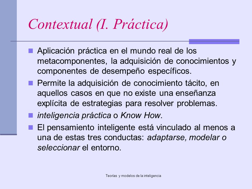 Contextual (I. Práctica)