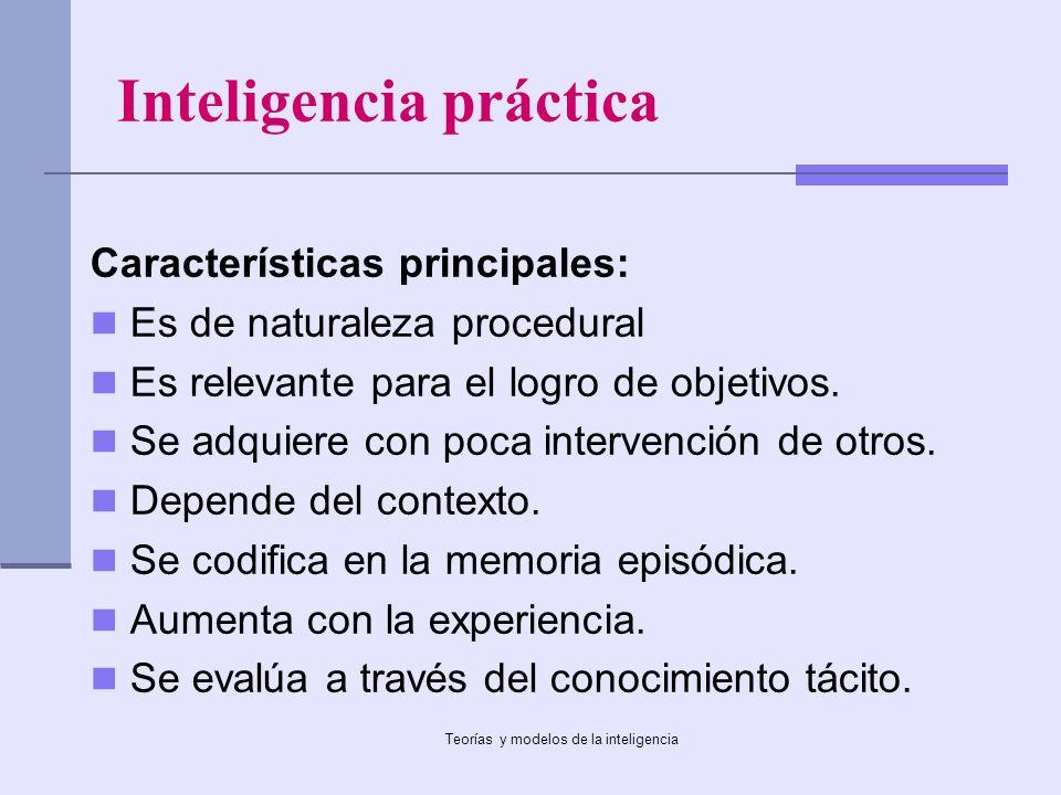 Inteligencia práctica