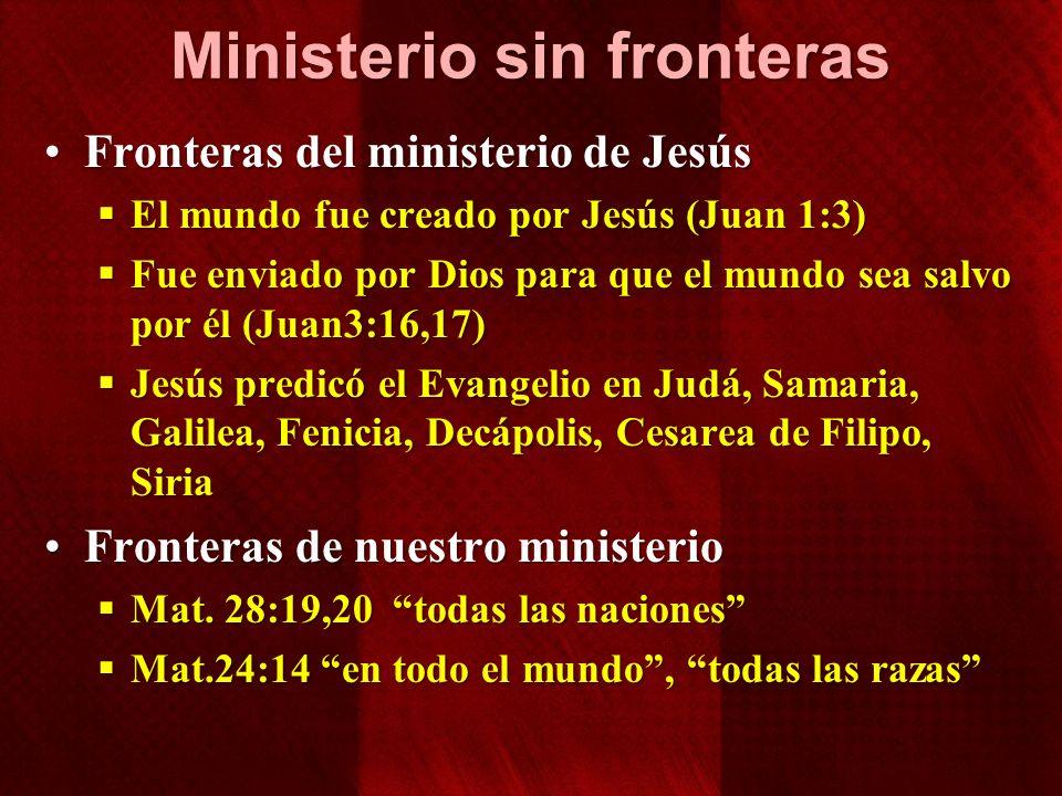 Ministerio sin fronteras