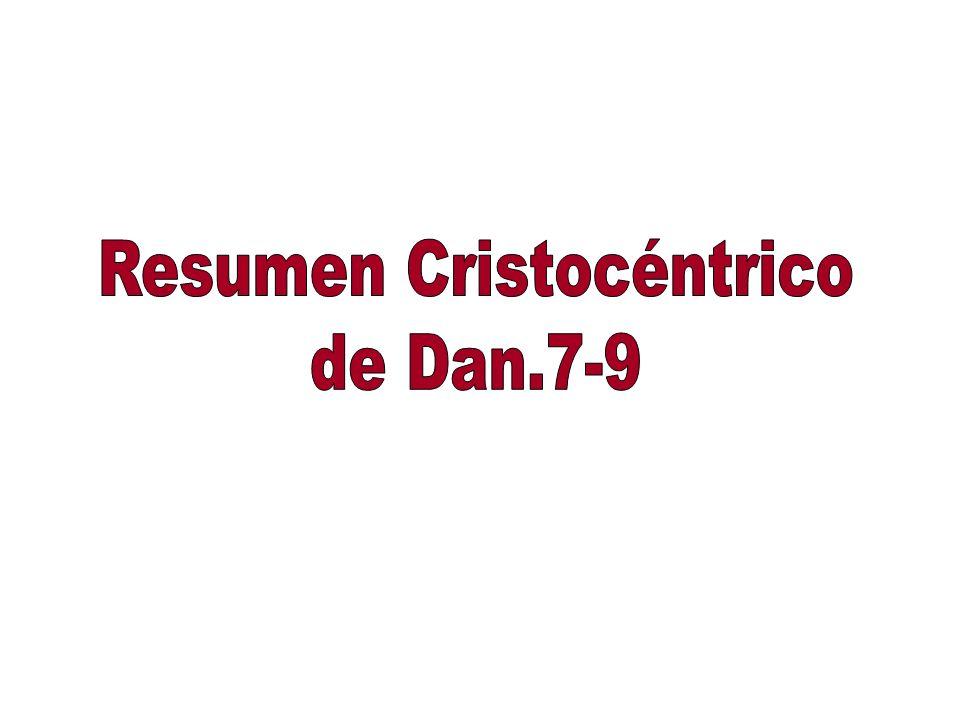 Resumen Cristocéntrico