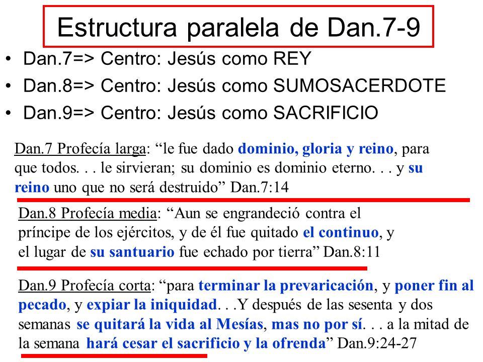 Estructura paralela de Dan.7-9
