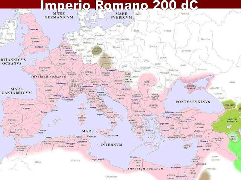 Imperio Romano 200 dC