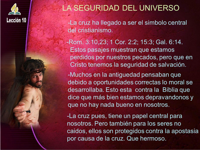 LA SEGURIDAD DEL UNIVERSO
