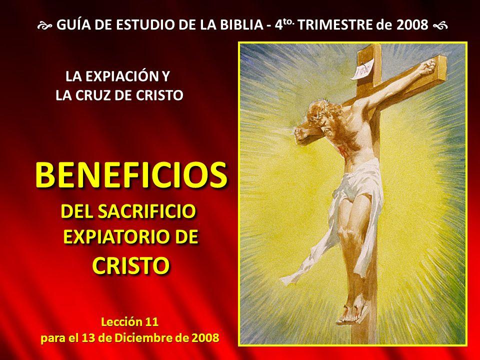  GUÍA DE ESTUDIO DE LA BIBLIA - 4to. TRIMESTRE de 2008 
