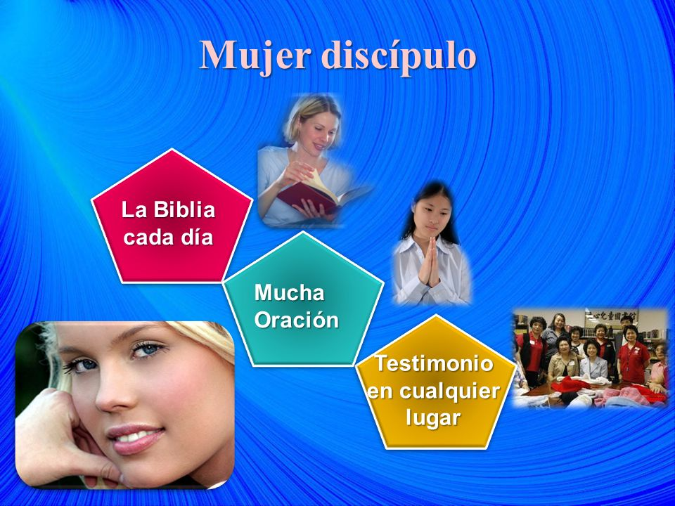 Mujer discípulo La Biblia cada día Mucha Oración Testimonio