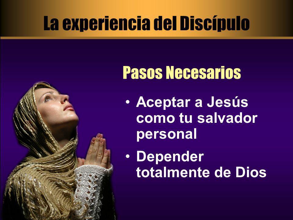 La experiencia del Discípulo