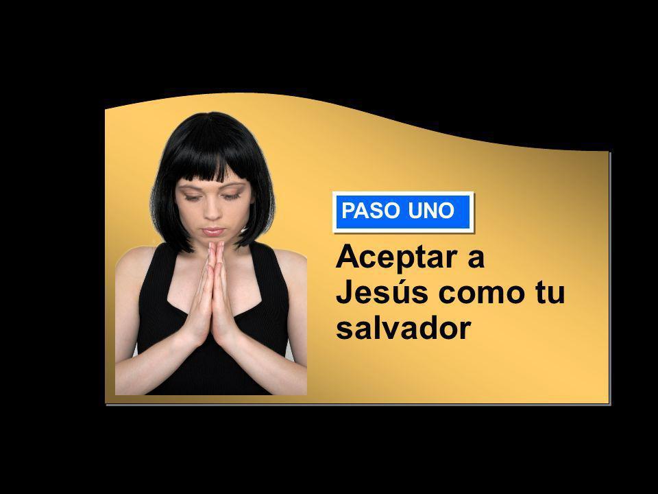 Aceptar a Jesús como tu salvador