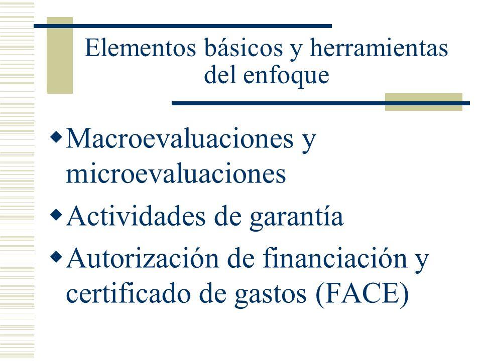 Elementos básicos y herramientas del enfoque