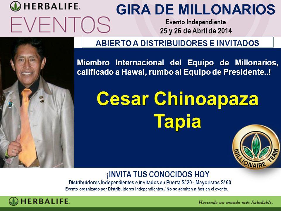 Cesar Chinoapaza Tapia