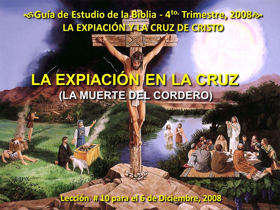 Guía de Estudio de la Biblia - 4to. Trimestre, 2008