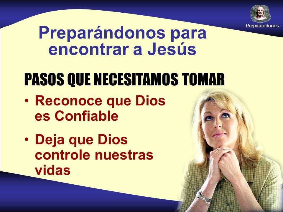 Preparándonos para encontrar a Jesús