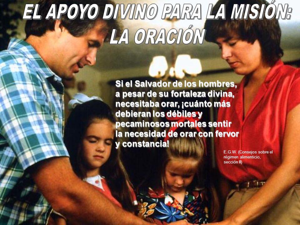 EL APOYO DIVINO PARA LA MISIÓN: