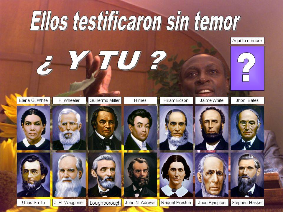 Ellos testificaron sin temor