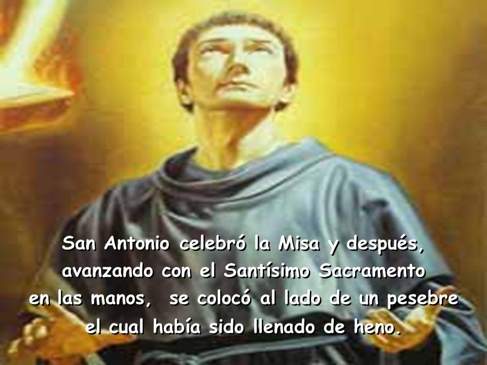 San Antonio celebró la Misa y después,