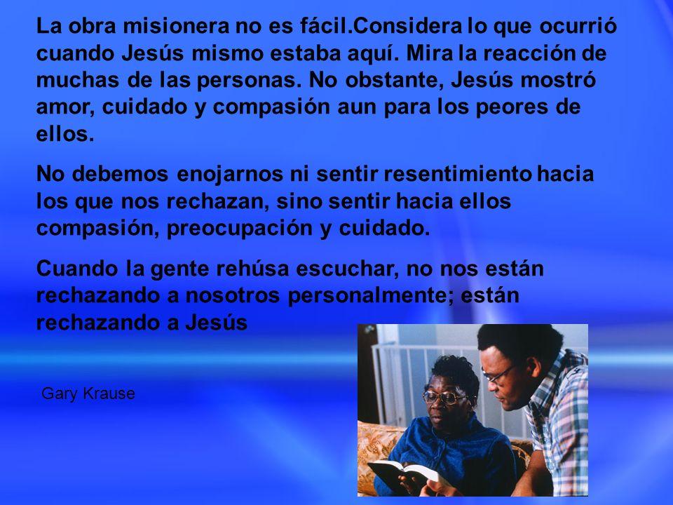 La obra misionera no es fácil