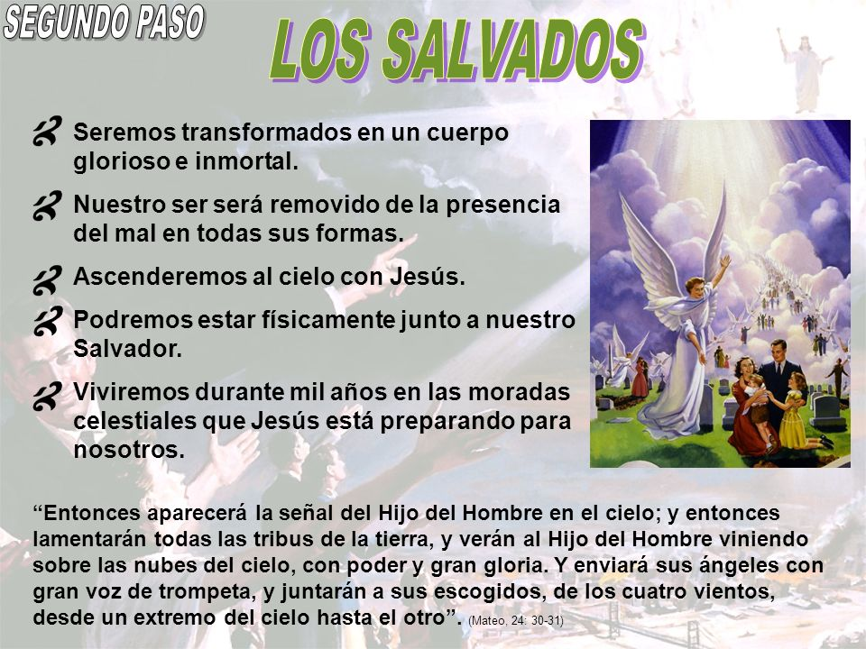 SEGUNDO PASO LOS SALVADOS