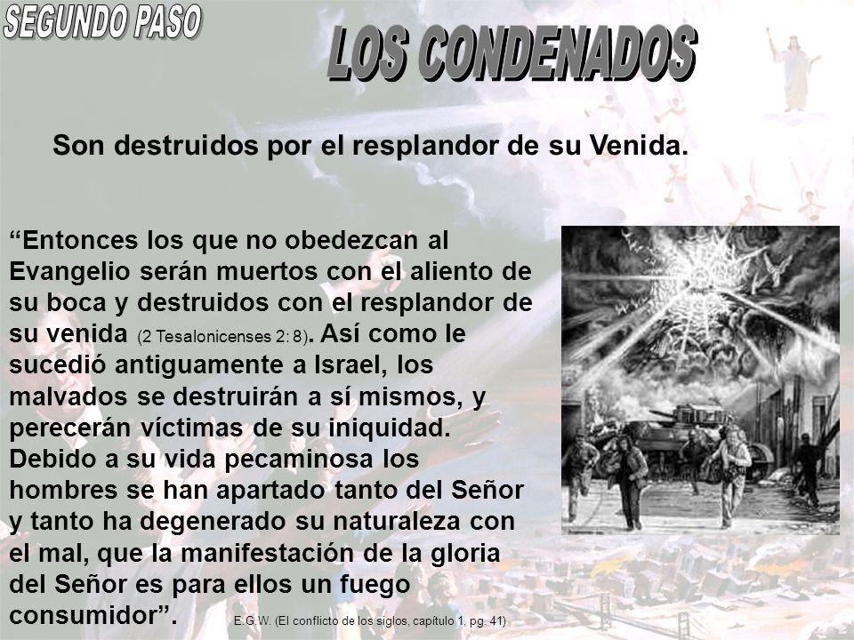 SEGUNDO PASO LOS CONDENADOS
