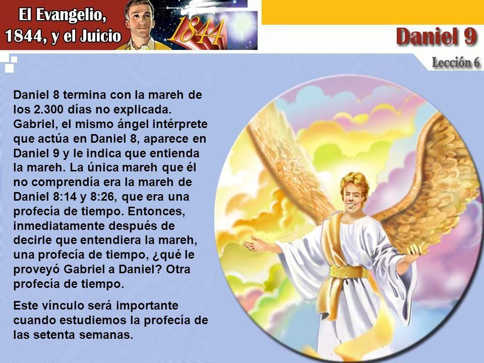 Daniel 8 termina con la mareh de los 2. 300 días no explicada