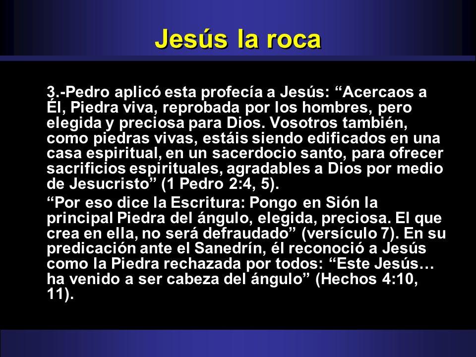 Jesús la roca
