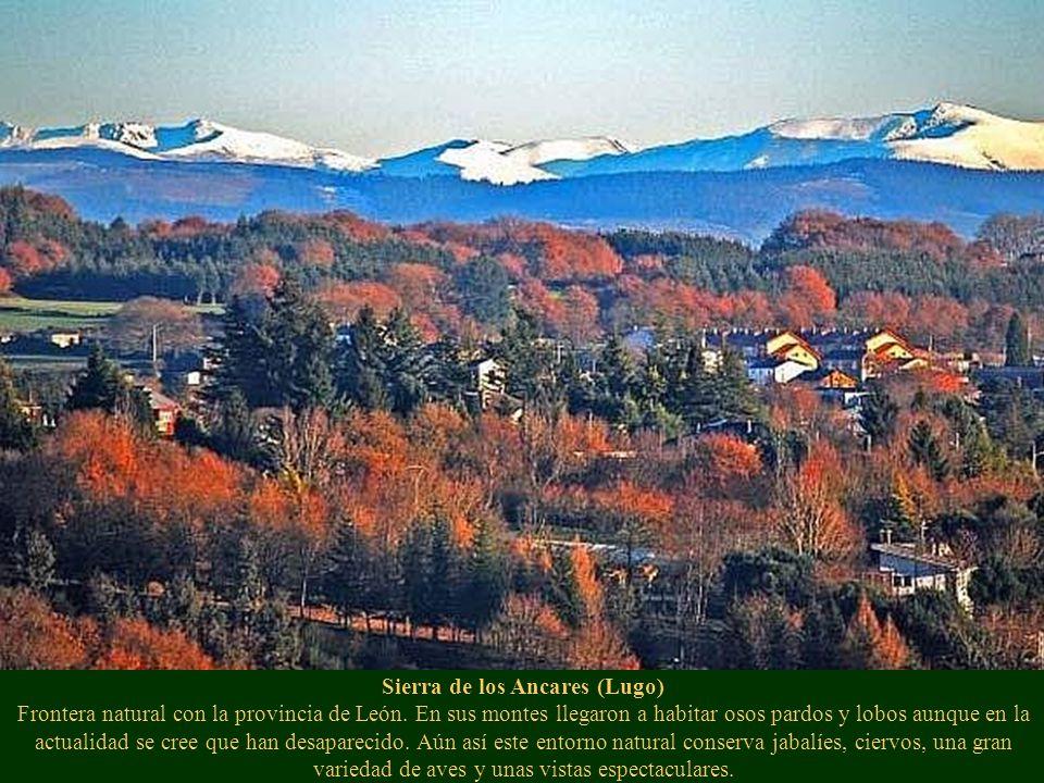 Sierra de los Ancares (Lugo) Frontera natural con la provincia de León