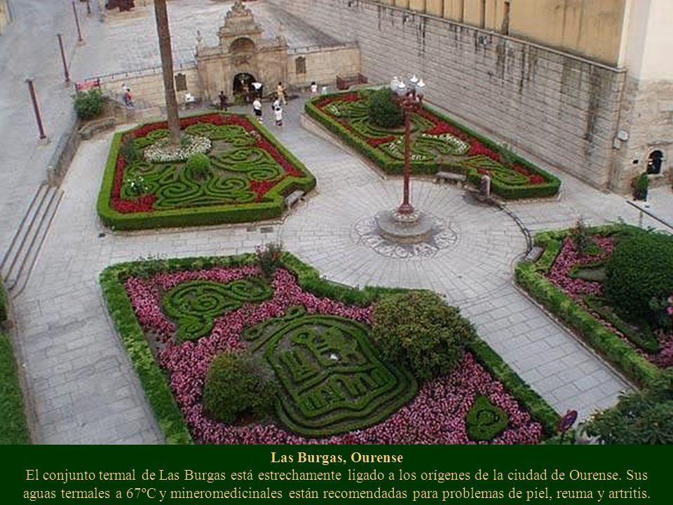 Las Burgas, Ourense El conjunto termal de Las Burgas está estrechamente ligado a los orígenes de la ciudad de Ourense.