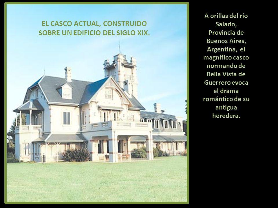 EL CASCO ACTUAL, CONSTRUIDO SOBRE UN EDIFICIO DEL SIGLO XIX.