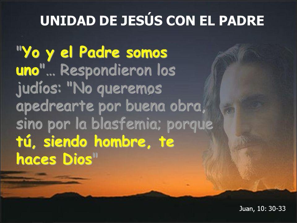 UNIDAD DE JESÚS CON EL PADRE