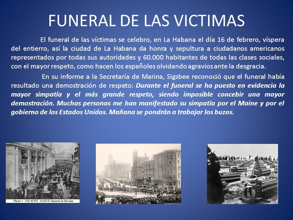 FUNERAL DE LAS VICTIMAS