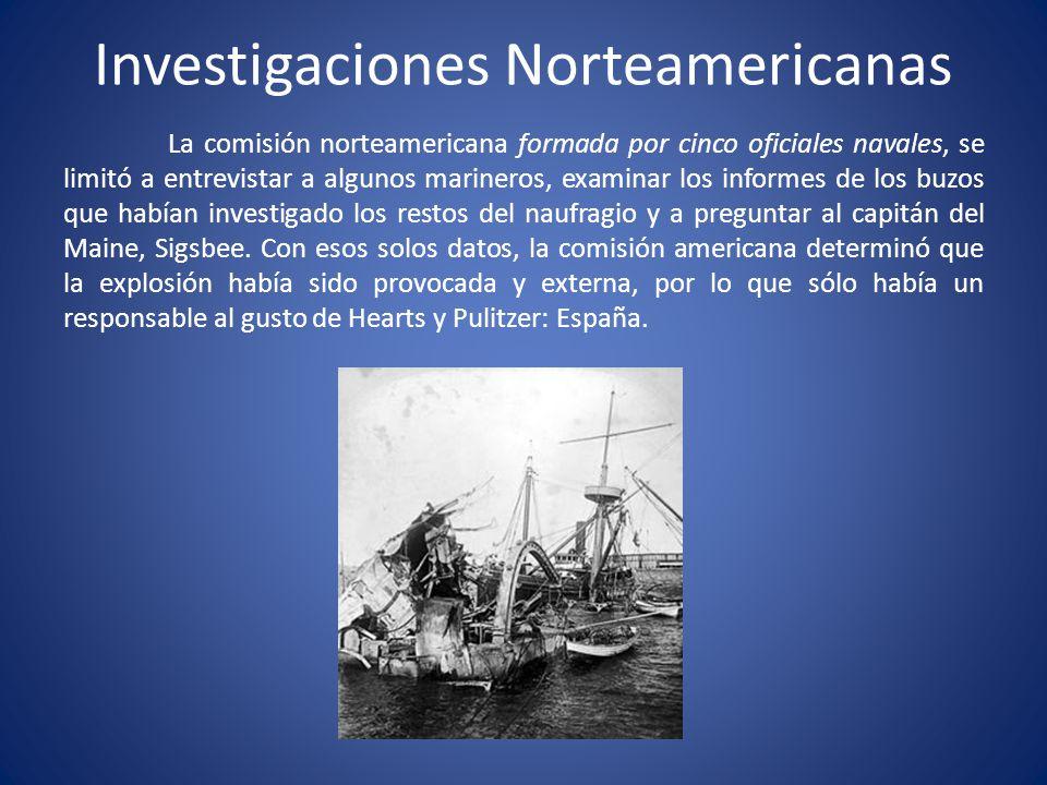 Investigaciones Norteamericanas