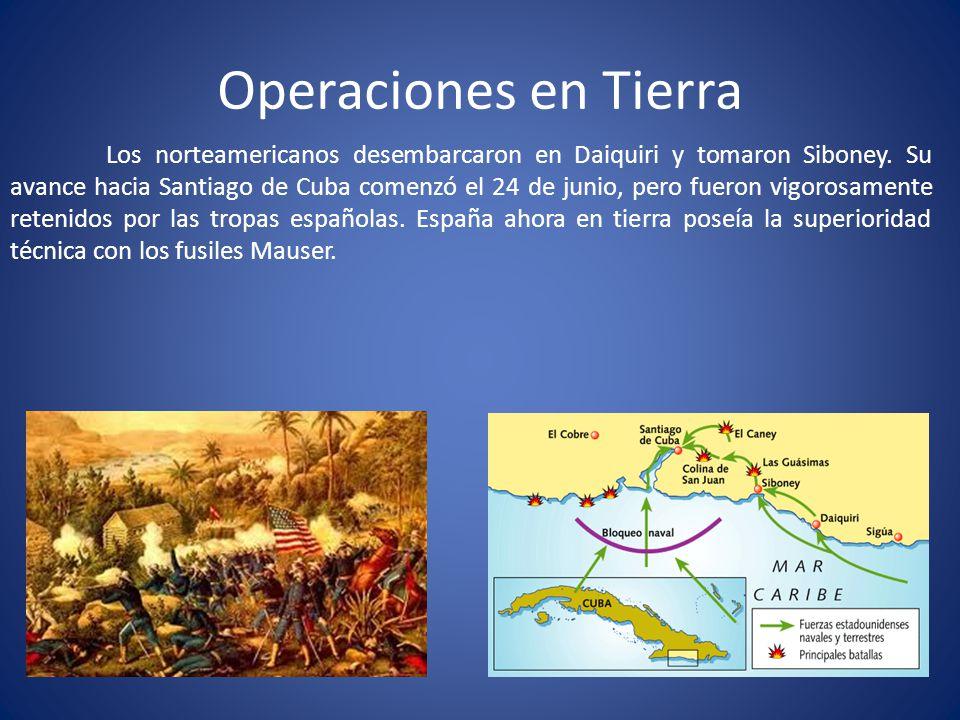 Operaciones en Tierra