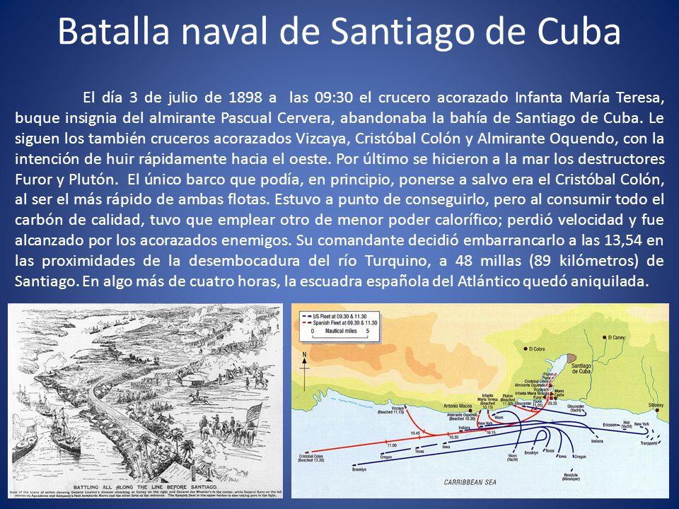 Batalla naval de Santiago de Cuba