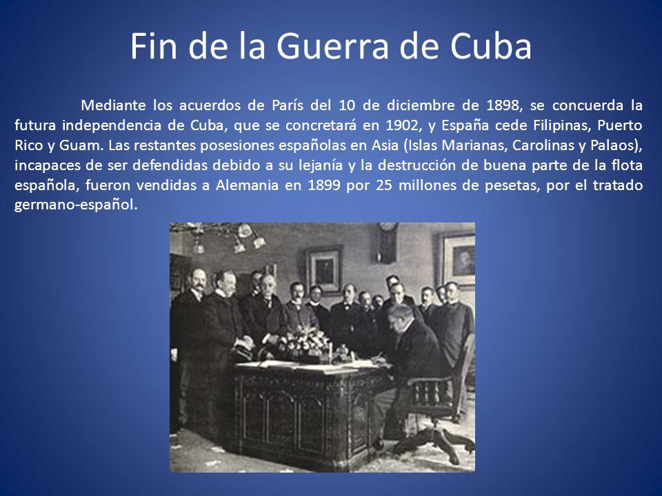 Fin de la Guerra de Cuba