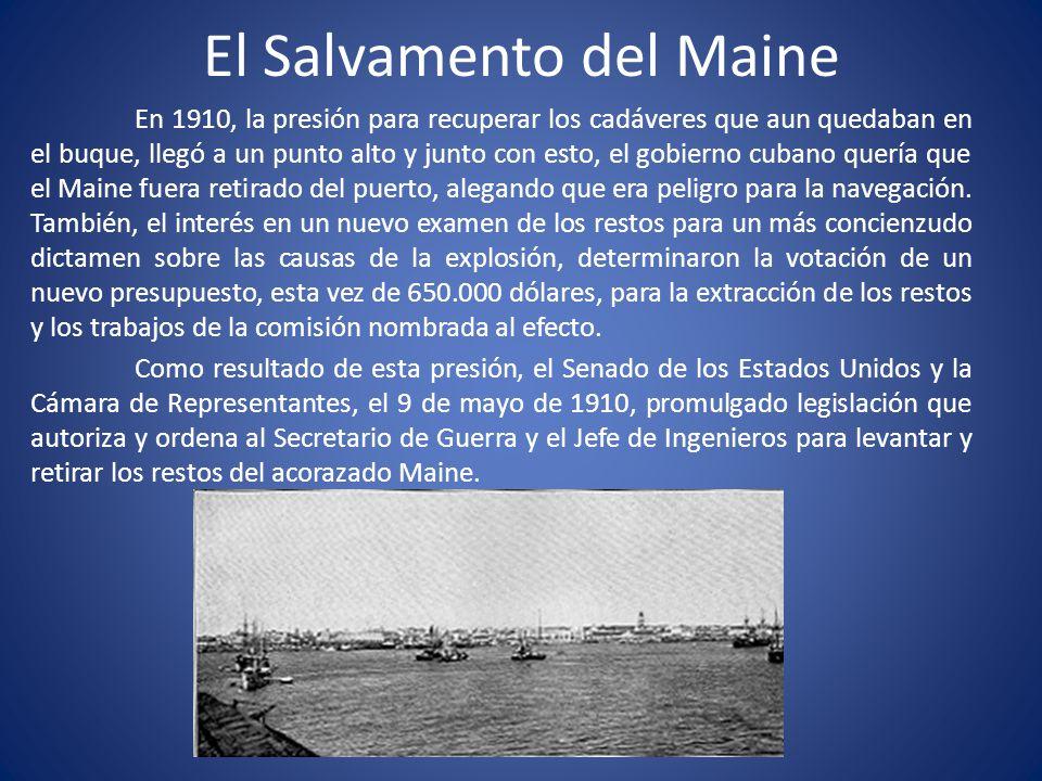 El Salvamento del Maine