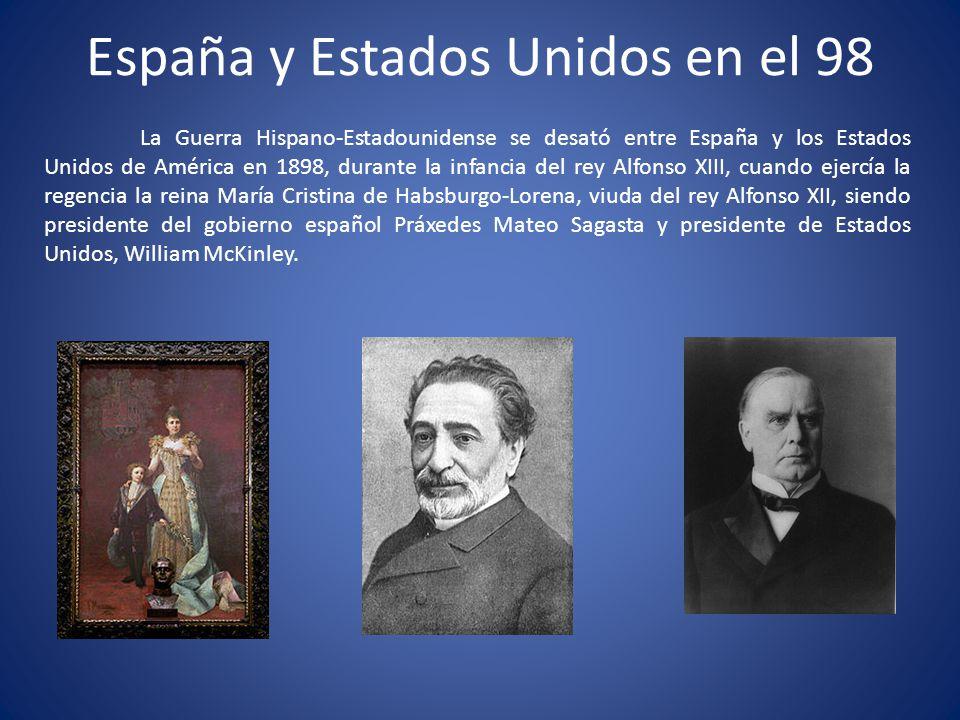España y Estados Unidos en el 98