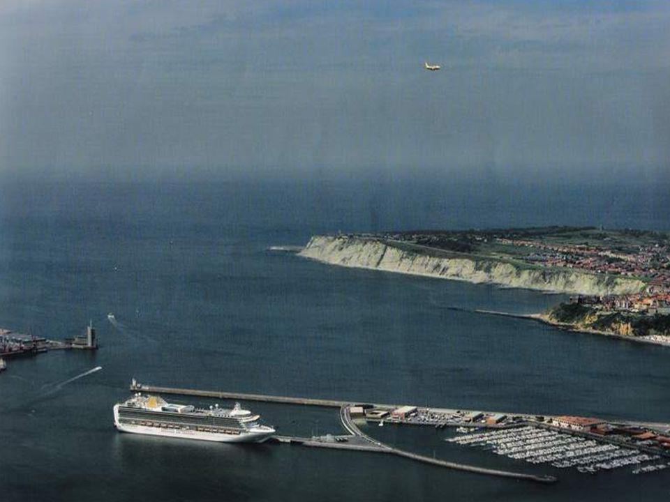 Muelle de Cruceros de Getxo.