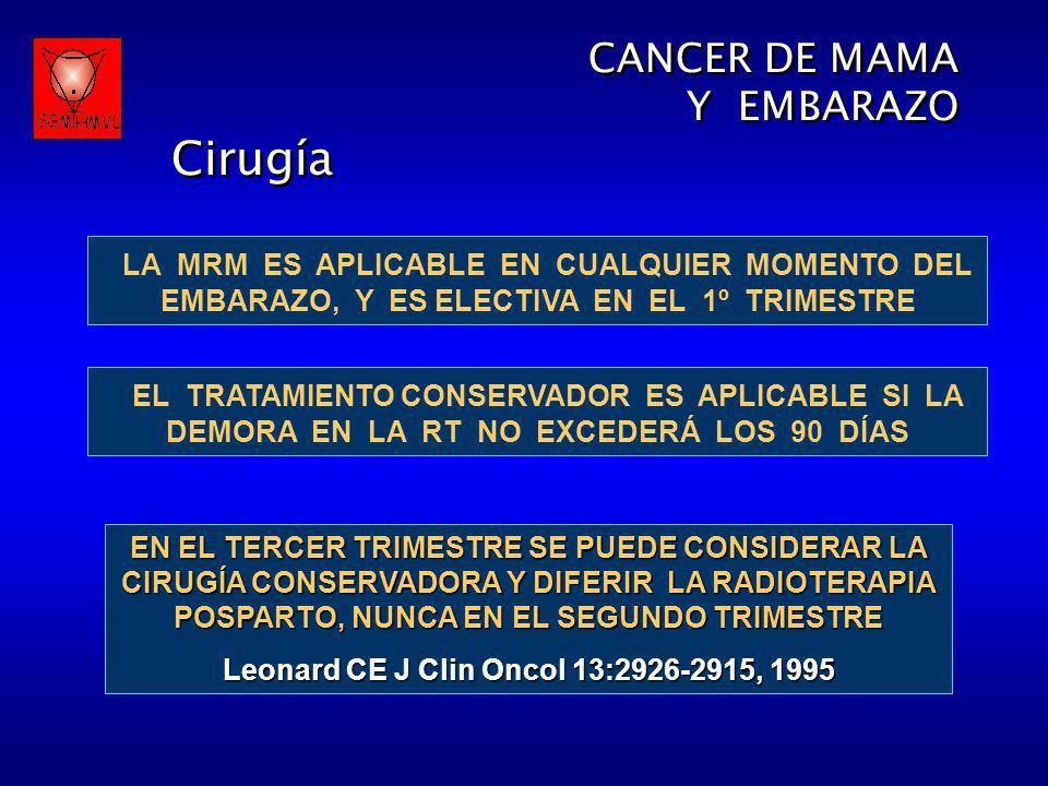 Leonard CE J Clin Oncol 13:2926-2915, 1995