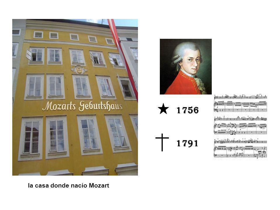 1756 1791 la casa donde nacio Mozart