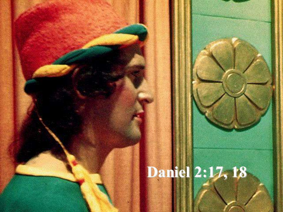 Daniel 2:17, 18