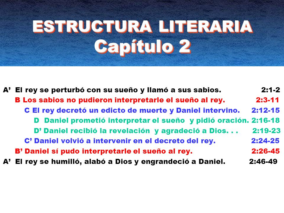 ESTRUCTURA LITERARIA Capítulo 2