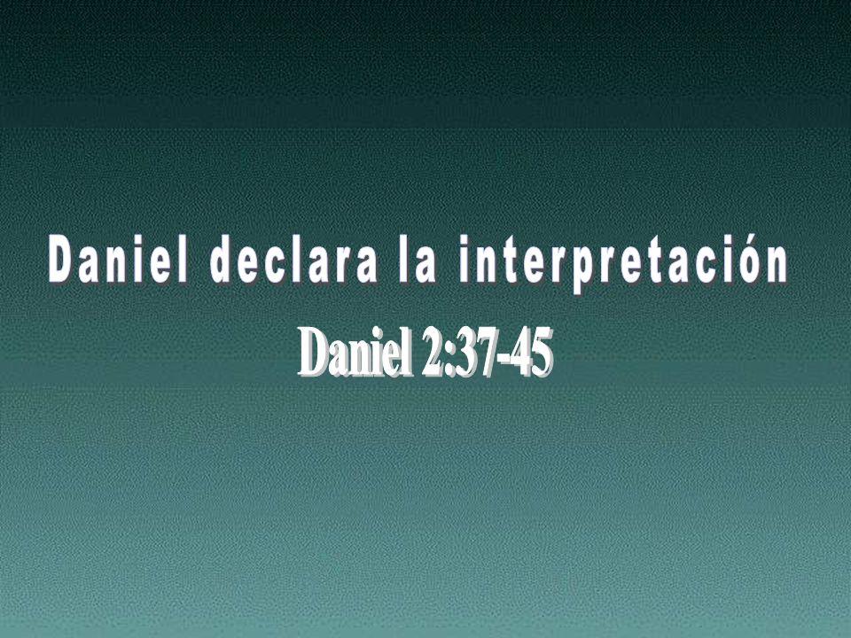 Daniel declara la interpretación