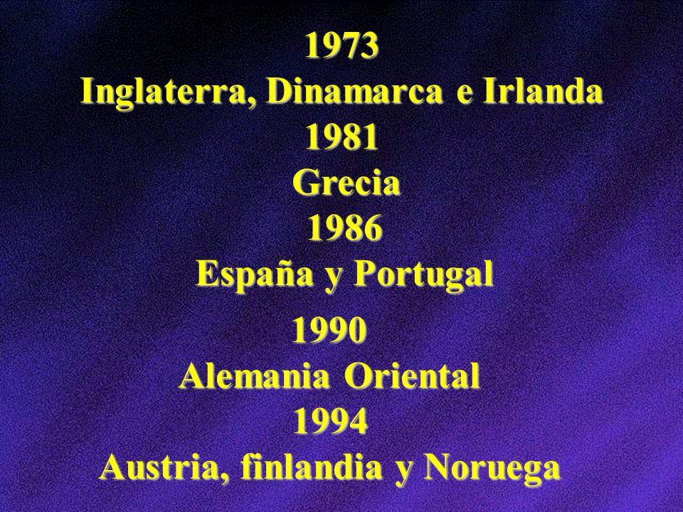 1973 Inglaterra, Dinamarca e Irlanda
