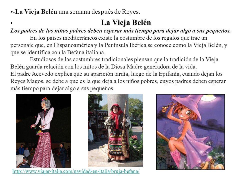 -La Vieja Belén una semana después de Reyes.