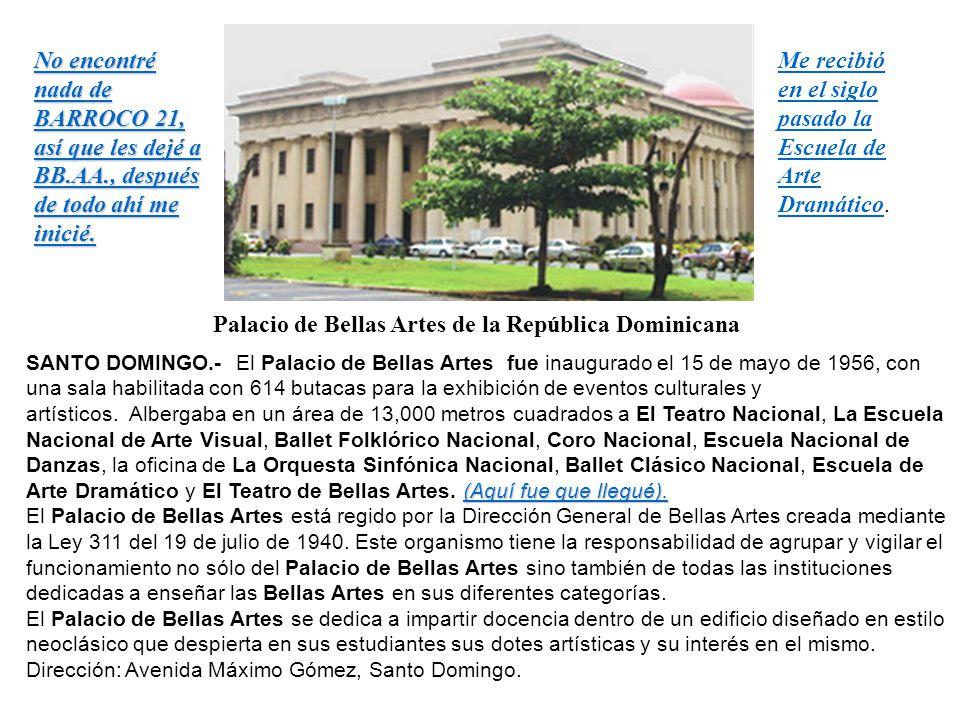 Palacio de Bellas Artes de la República Dominicana