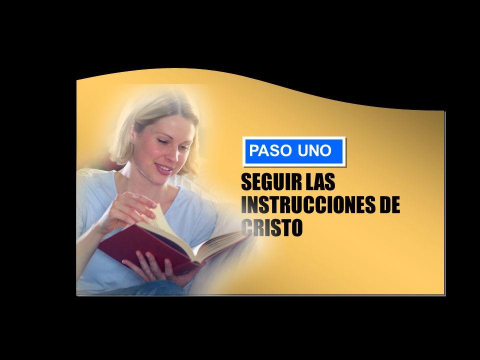 SEGUIR LAS INSTRUCCIONES DE CRISTO