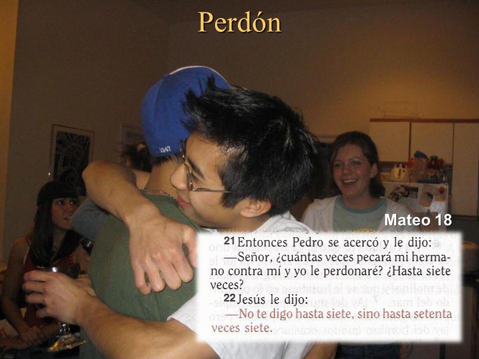 Perdón Mateo 18