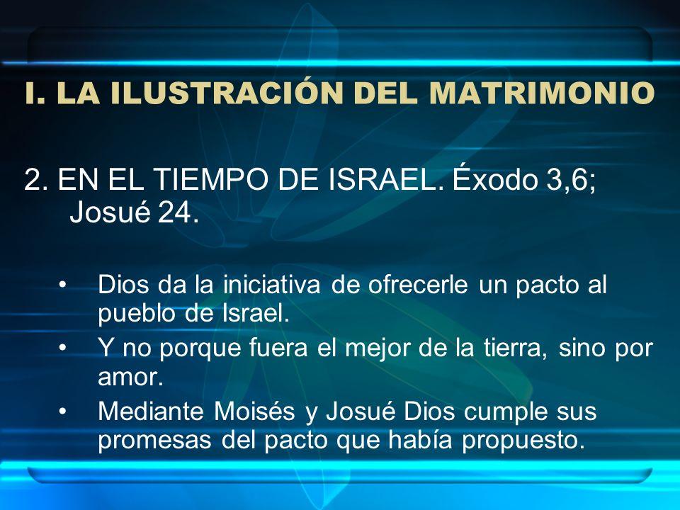 I. LA ILUSTRACIÓN DEL MATRIMONIO