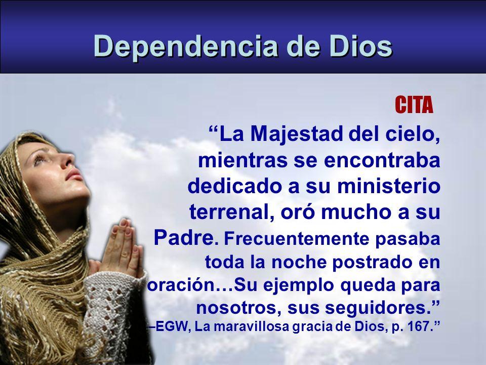 Dependencia de Dios CITA