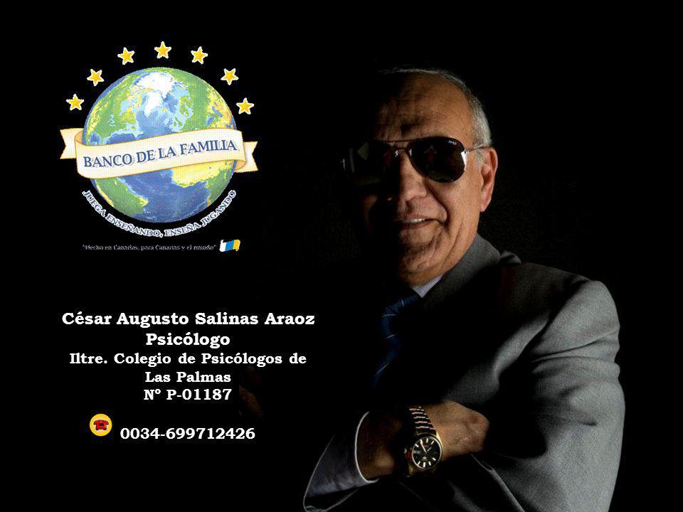 César Augusto Salinas Araoz Iltre. Colegio de Psicólogos de