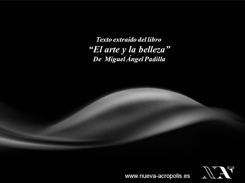 Texto extraído del libro De Miguel Ángel Padilla