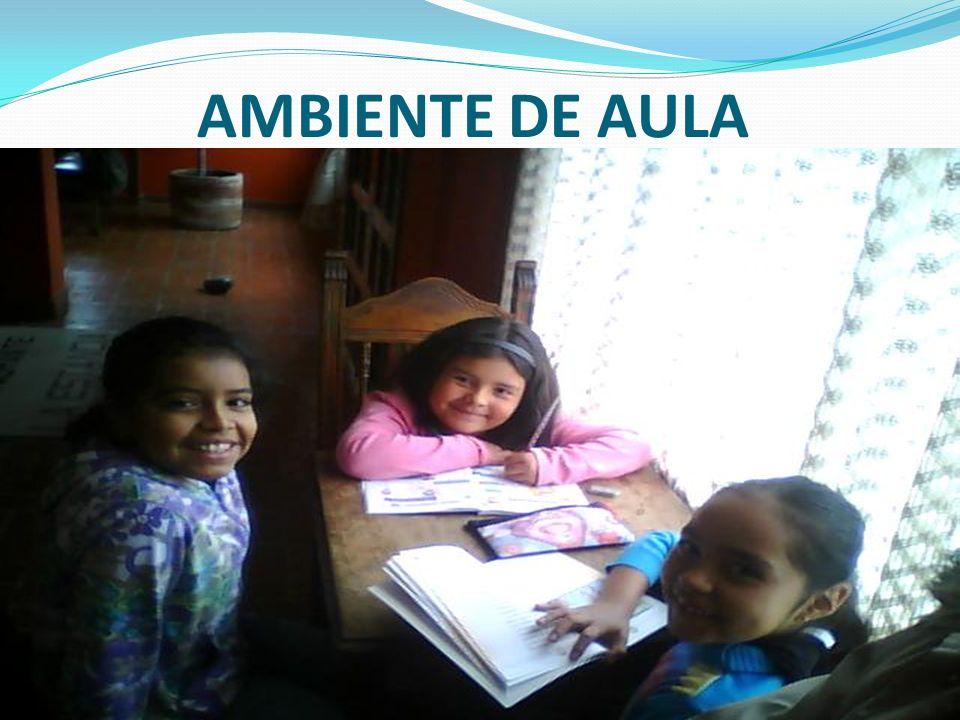 AMBIENTE DE AULA